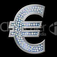 Diamant Symbol Euro