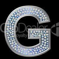 Diamant Buchstabe G