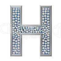 Diamant Buchstabe H