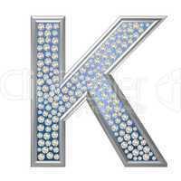 Diamant Buchstabe K
