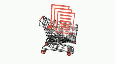 Shopping Cart and documentation.retail,buy,cart,shop,basket,sale,customer,discount,supermarket,market,