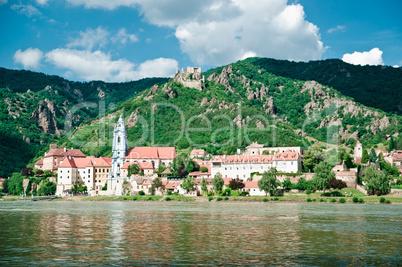 Duernstein and Danube River
