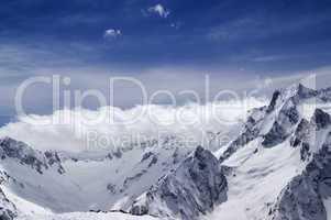 Caucasus Mountains. Dombay.
