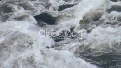 White water waves