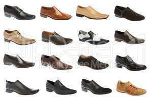 Sixteen man's shoes