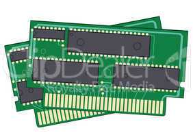 2 digital memory devices