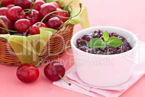Kirschmarmelade / cherry jam