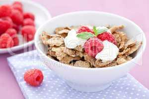 Cornflakes und Früchte / cornflakes and fruits