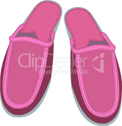 Female house slippers