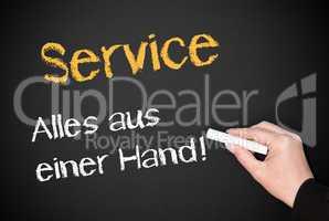 Service - Alles aus einer Hand !