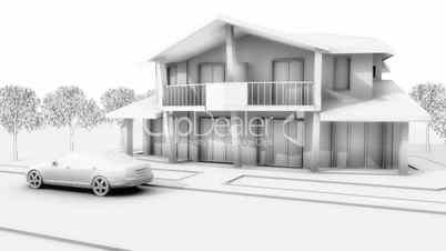 House model build
