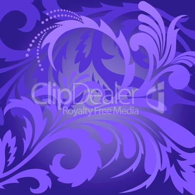 Violet floral background.eps