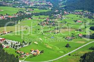 Luftaufnahme Ruhpolding / Chiemgau