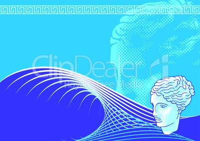 Venus head background