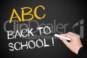 ABC - Back to school !