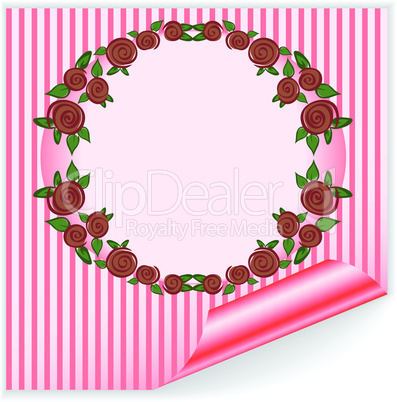pink frame with curved corner.eps