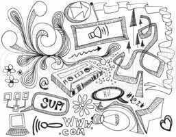 Random Doodles - Hand drawings