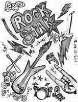 Rock Star Doodles