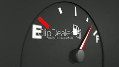 Fuel gage HD.