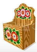 Wooden Casket
