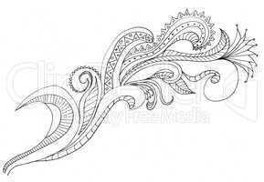 Paisley hand drawings