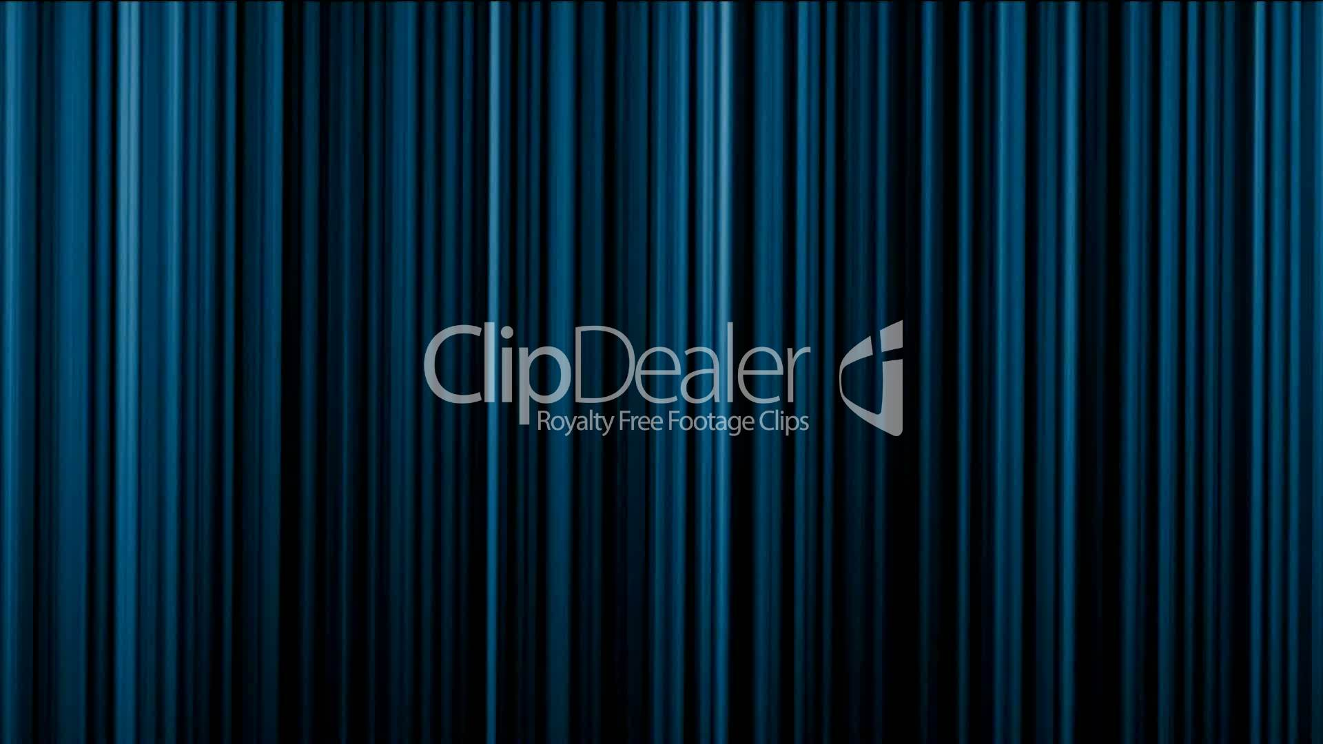 Blue Stage Curtain Theater Curtain Vertical Lines