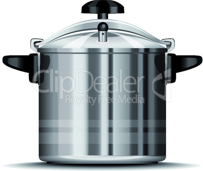 Pressure cooker for cooking