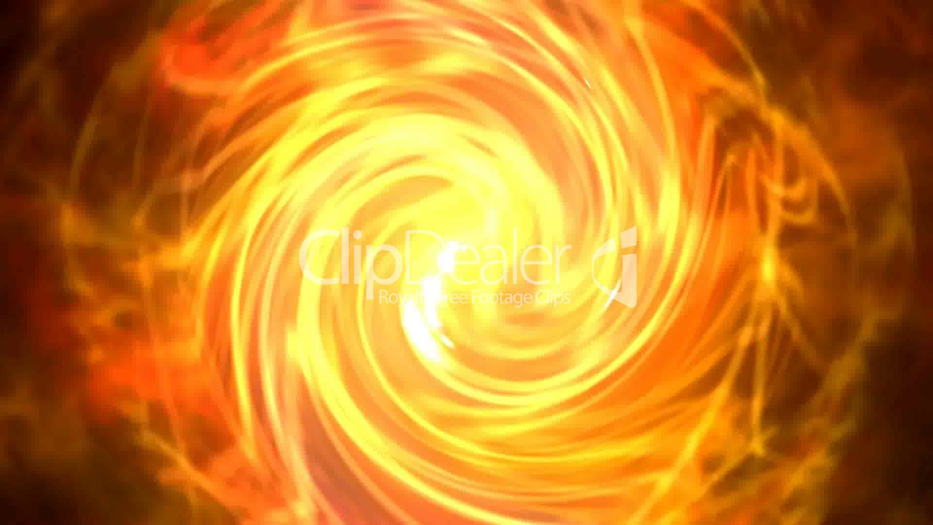 Solar Storms Flame Hurricane Swirl Fire Cyclones Shaped