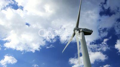 Windenergie im Zeitraffer