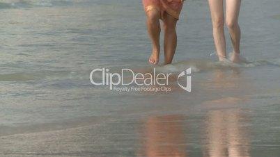 Personen am Strand