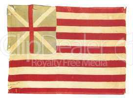 Vintage american flag - distressed grunge usa