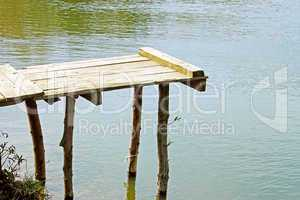 Wooden springboard