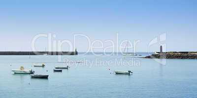 Hafen von Arrecife, Lanazarote, Kanaren, Spanien, Europa