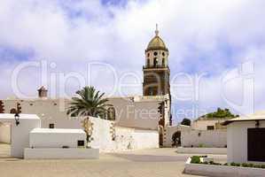 Kirche San Miguel in Teguise, Lanzarote, Spanien, Europa