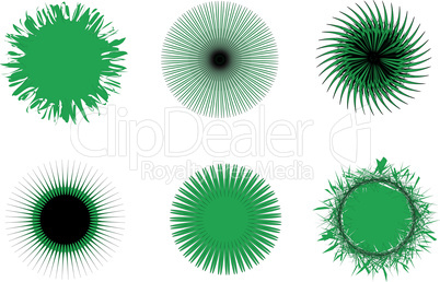 Vector pattern for currency, certificate or diplomas, decorative elements