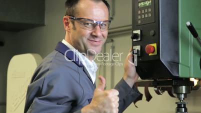 Schlosser Industriemechaniker