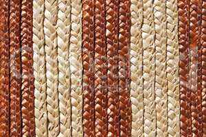 Woven straw products