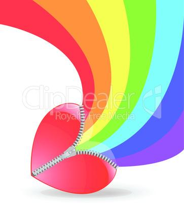 heart with rainbow.eps