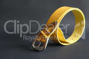 Yellow Belt On Dark