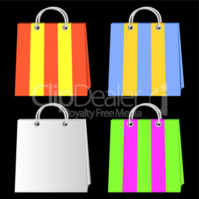 Bags for purchases.