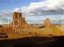 Mittens,Monument Valley