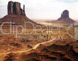 Monument Valley, Mittens, Arizona