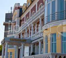 Hotel on the seafront