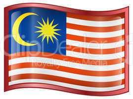 Malaysia Flag Icon.