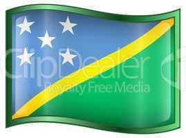 Solomon Islands Flag icon.