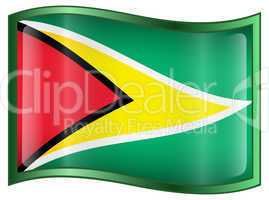 Guyana Flag icon.