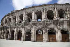Amphitheater von Nimes, Provence, Frankreich