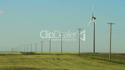 Wind Turbines and Powerline