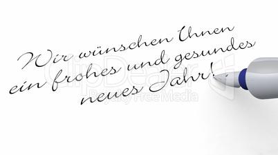Ich Wünsche Ihnen Ein Gesundes Neues Jahr