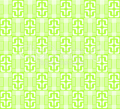 Light green abstract geometric pattern for the background, (vector)